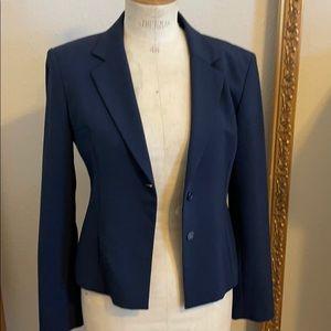 Tahari Blue Suit